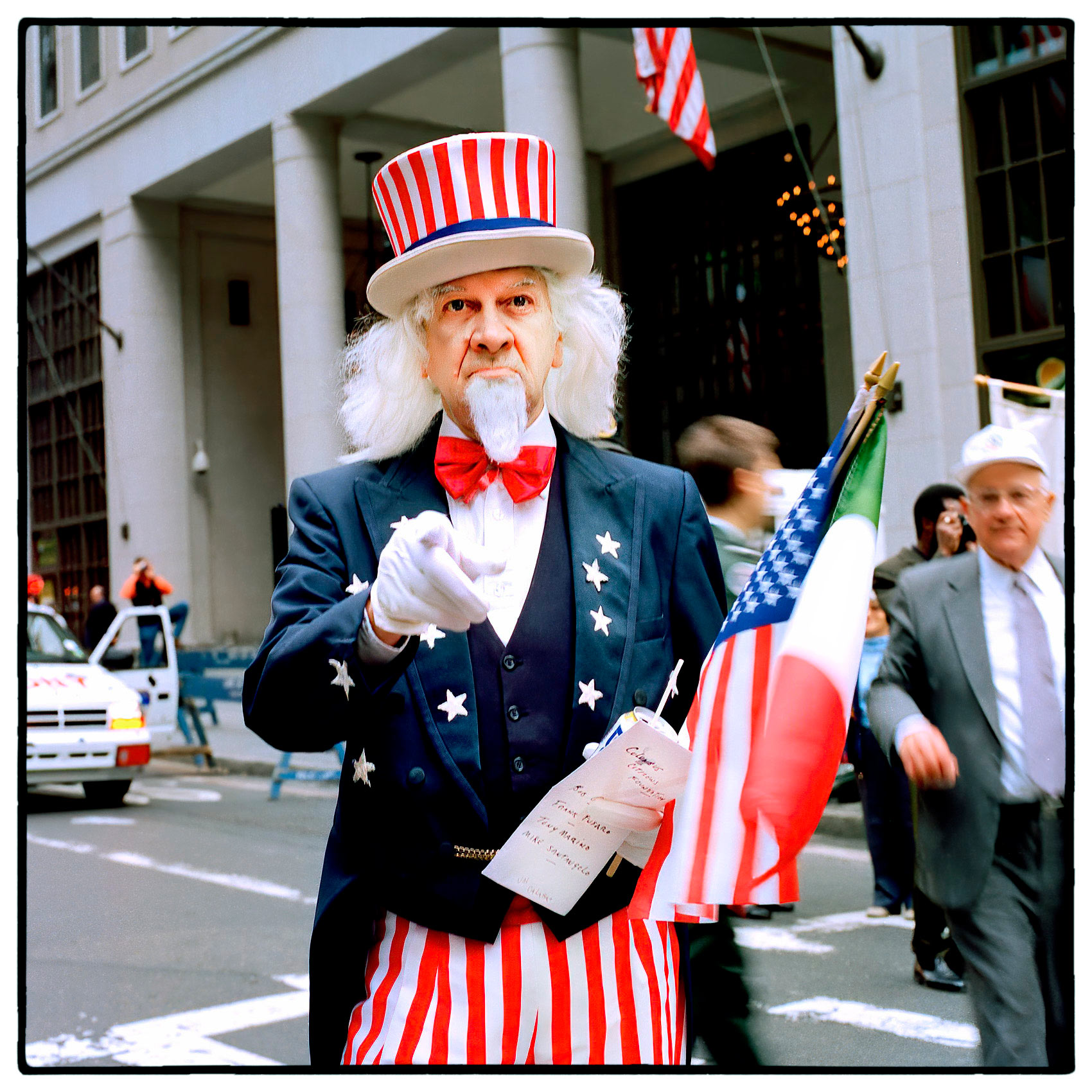 a-man-dressed-as-uncle-sam-points-his-finger-while-having-his-photo-taken-at-thanks-giving-parade-in-new-york-city