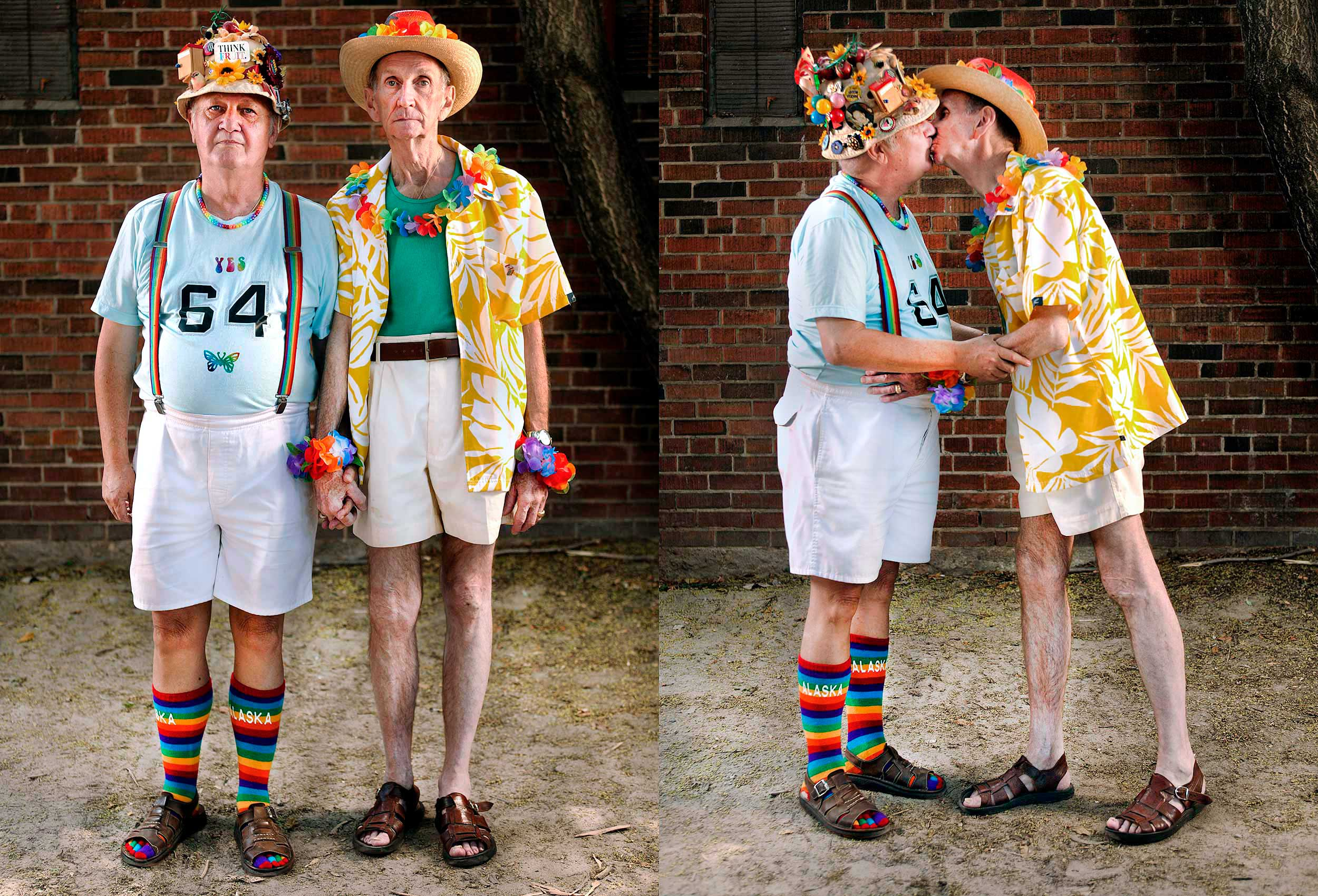 a-portrait-of-an-older-gay-male-couple-at-the-toronto-gay-pride-parade