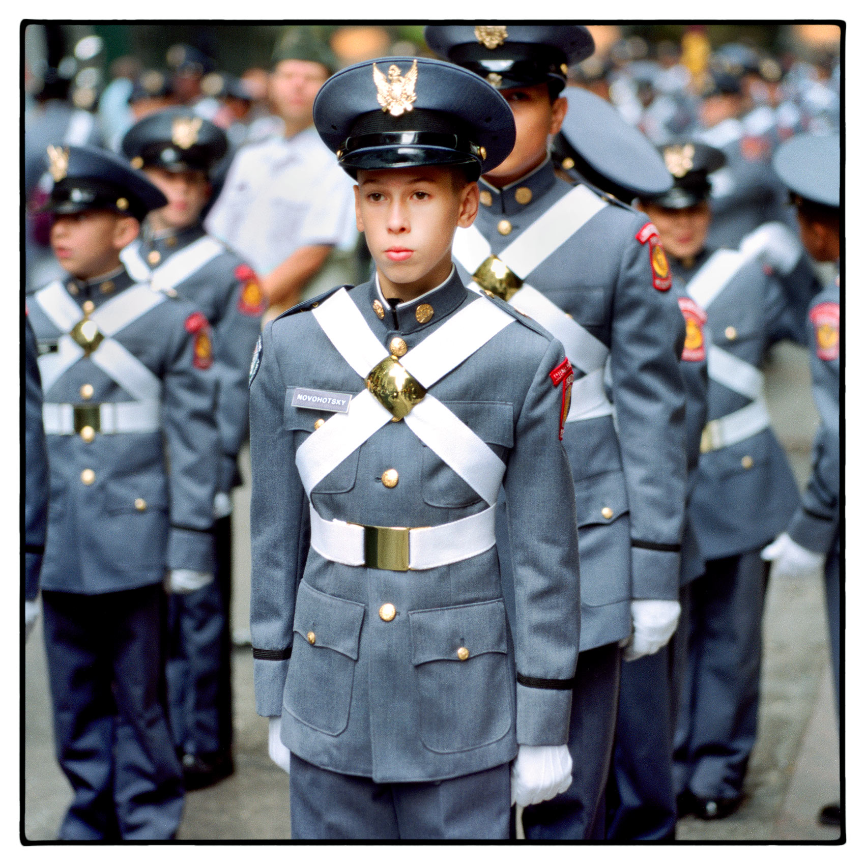 a-young-boy-from-a-private-military-school-stands-at-attention-before-the-thanksgiving-parade-in-new-york-city