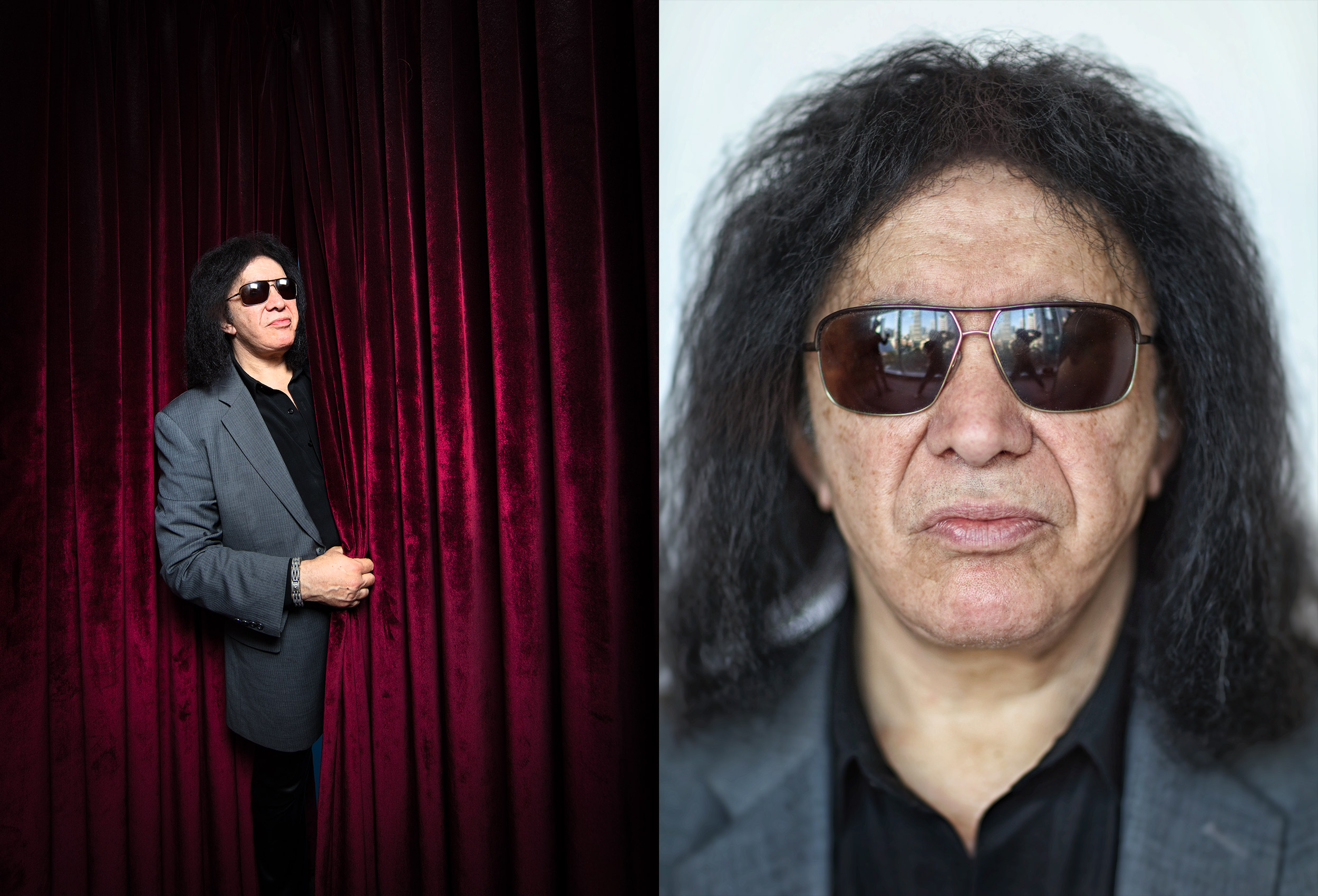 toronto celebrity photographer gene simmons from kiss
