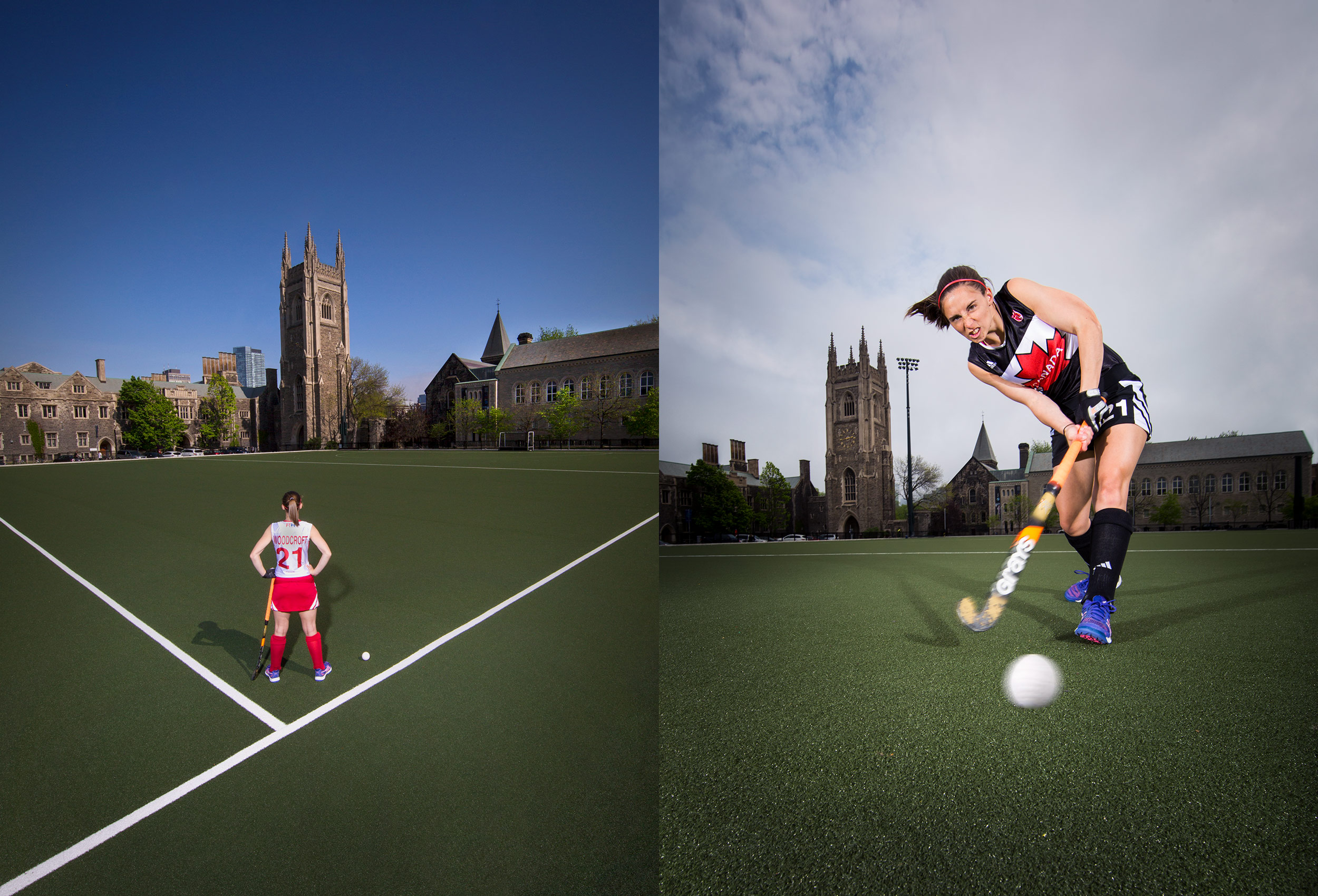 toronto photographer education university field hockey
