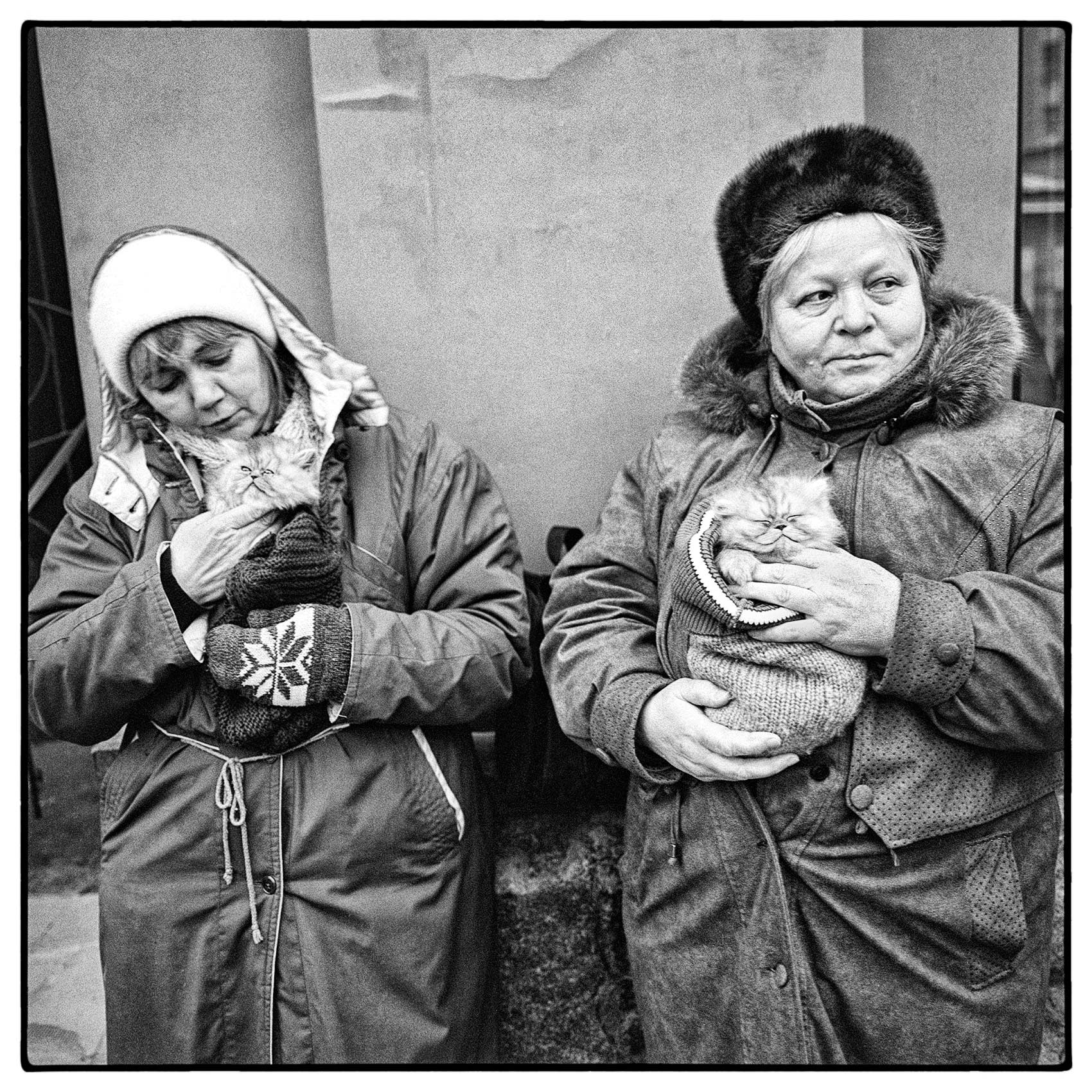 two-woman-hold-kittens-for-sale-on-the-winter-streets-of-central-moscow